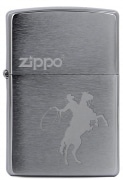 Zippo Cowboy and Horse