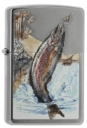 Zippo Jumping Trout