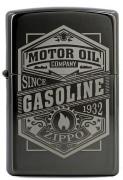 Zippo Motor Oil Sign