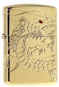 Zippo Dragon plaqué or