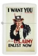 Zippo US Army I Want You
