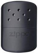 Chauffe main Zippo grand modèle Noir mat