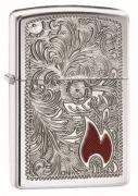 Zippo Armor Case Venetian Flame