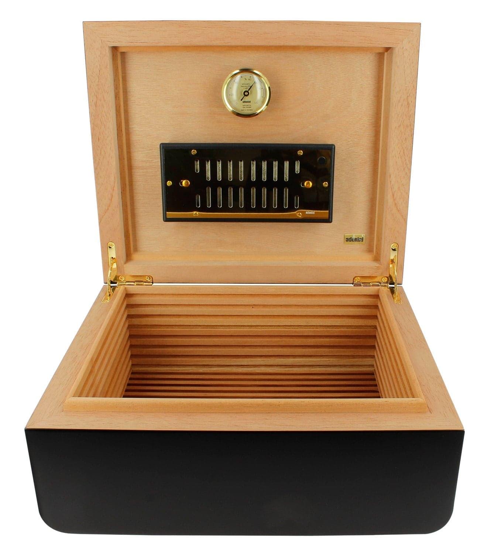 cave cigares adorini carrara medium noir deluxe 179 00. Black Bedroom Furniture Sets. Home Design Ideas