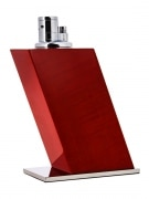 Briquet de table Elie Bleu Sycomore Rouge