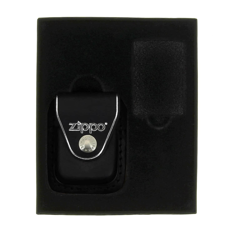 Boite cadeau Zippo avec étui noir à clip - 23,50€ 3d14950dd78