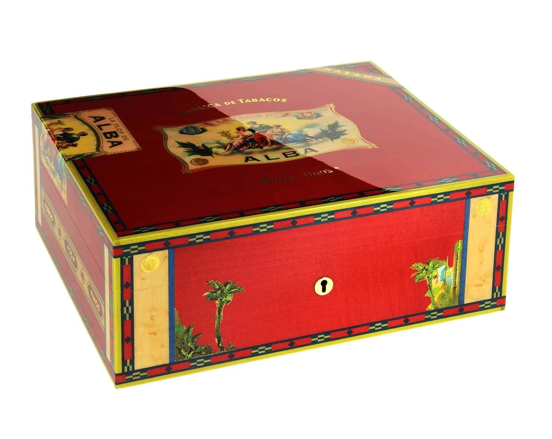 cave a cigare elie bleu flor de alba rouge 2305 00. Black Bedroom Furniture Sets. Home Design Ideas