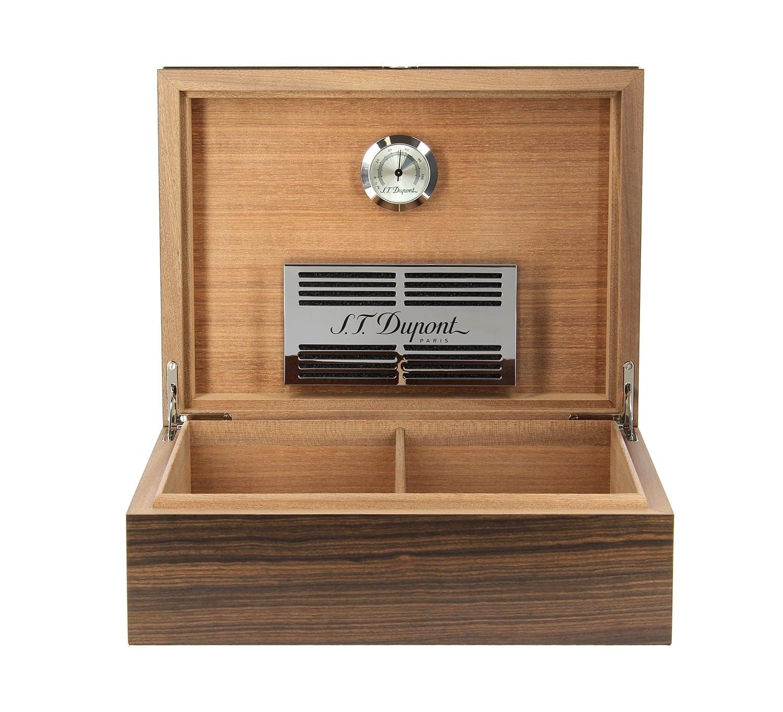 cave a cigare st dupont 75 cigares ebene mat 1350 00. Black Bedroom Furniture Sets. Home Design Ideas