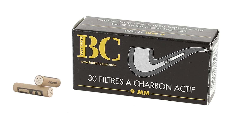 Filtres Butz-Choquin 9mm Charbon Actif