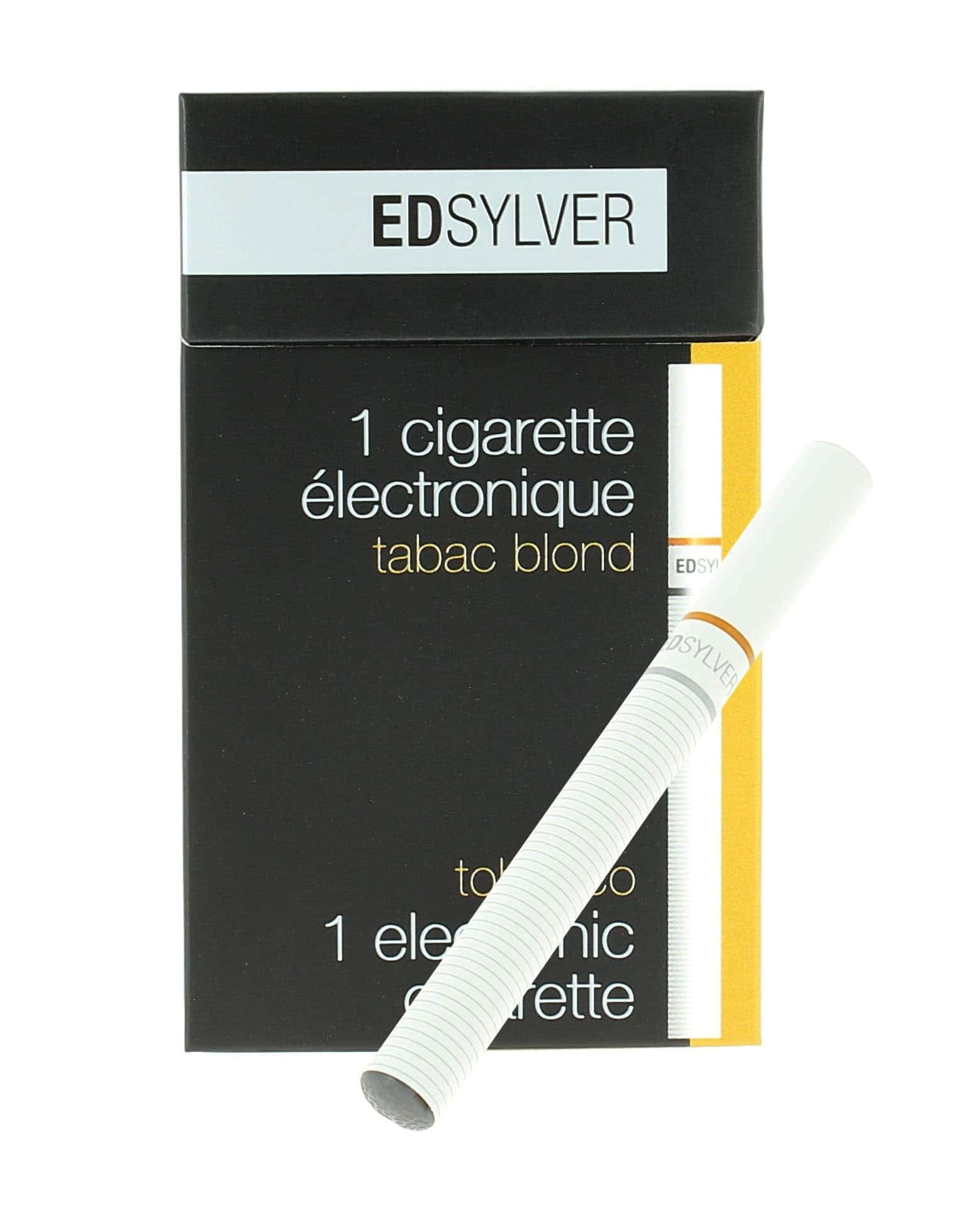 e cigarette jetable edsylver tabac blond avec nicotine 9 9. Black Bedroom Furniture Sets. Home Design Ideas