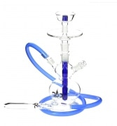 Chicha en Verre DUD Fat Boy bleu