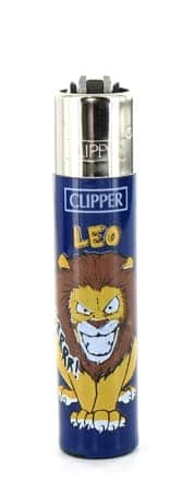 Briquet à pierre Clipper Astrologie Lion