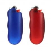 Etui briquet Bic rouge ou bleu