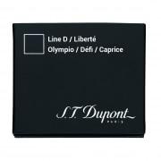 Cartouche S.T. Dupont Stylo Plume Défi Noire x6