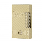 Coffret Collector Briquet S.T. Dupont Ligne 2 James Bond 007 Or Jaune