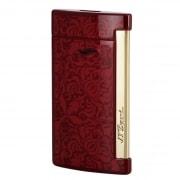 Briquet S.T. Dupont Slim 7 Baroque Rouge