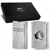 Coffret S.T. Dupont maxiJet James Bond Chromé