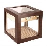 Cave à cigares Adorini Cube Deluxe marron