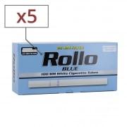 Boite de 200 tubes Rollo Blue 100's x 5