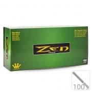 Boite de 200 tubes Zen 100's Menthol