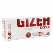 Boite de 250 tubes Gizeh Silver Tip Extra