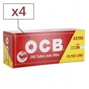 Boite de 250 tubes OCB Extra x 4