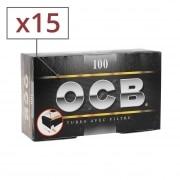 Boite de 100 tubes OCB avec filtre x5 - pack de 3