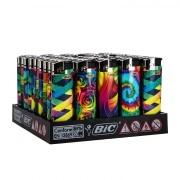50 briquets Bic Maxi Electroniques Rainbow