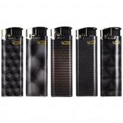 5 briquets Bic Maxi Electroniques Texture