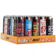 50 briquets Bic maxi à pierre The Rolling Stones