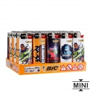 50 briquets Bic mini à pierre Gamer