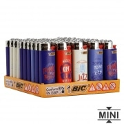 50 briquets Bic mini à pierre Music Lover