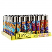 Briquet Clipper Ananas x 48