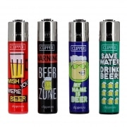 Briquet Clipper Beer x 4