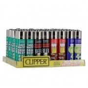 Briquet Clipper Beer x 48