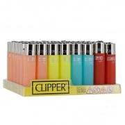 Briquet Clipper Soft Touch x 48