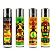 Briquet Clipper Tequila Time x 4