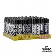 Briquet Clipper Micro Baby Skulls x 48