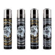 Briquet Clipper The Bulldog Black lot de 4
