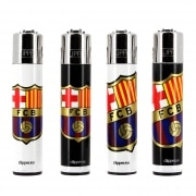 Briquet Clipper FC Barcelone lot de 4