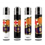 Briquet Clipper FC Barcelone lot de 4