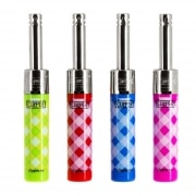 Briquet Clipper Mini Tube Vichy x 4