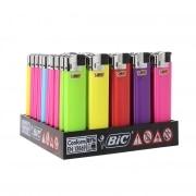 50 briquets Bic Maxi electronic couleur