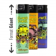 Briquet Géant Flower Power