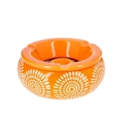 Cendrier Marocain Fleur Orange