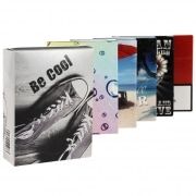 Etui paquet 25 cigarettes carton