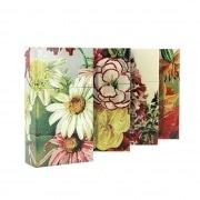 Etui paquet cigarette 100's décors floraux