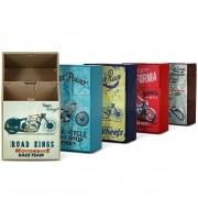 Etui paquet de cigarette Vintage Motorbike