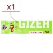Feuille a rouler Gizeh Slim Hyper Fin et Tips x 1
