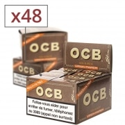 Papier a rouler OCB Slim Virgin rolls et tips x 16 PACK de 3